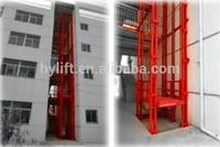 Guider rail lif platform/hydraulic portable material lift