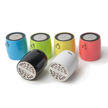 portable wireless mini bluetooth speaker with remote shutter