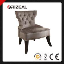 Ave Six Vintage Button Tufted Velvet Chair OZ-SW-072