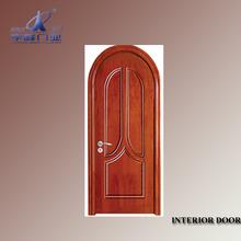 modern interior swinging doors/wood plastic composite door
