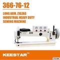 Keestar zz366-76-12 bolsa máquinas de costura