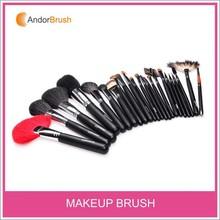 Andor 23Pcs Pro Cosmetic Makeup Brush Professional Kit makeup brushes with black Make Up brush