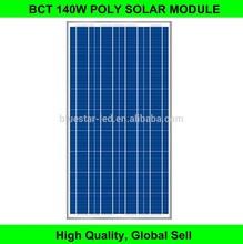 140w high efficiency poly solar module