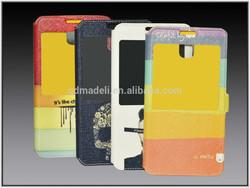 beautiful &popular handmade mobile phone leather case