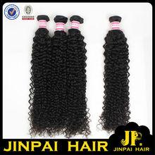 JP Hair No Chemical Process 34Inch Brazilian Curly Human Hair 4Pcs Weave