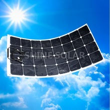 Hot sell low price light weight 10w flexible solar panel high efficiency for RV / Boats