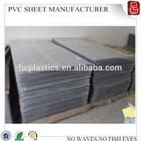 pvc rigid hard sheet (ISO)