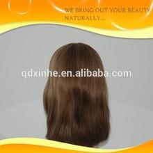 Wholesale 26 inches medium brown guleless long jewish korsher wig stock discount