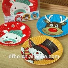 Animal Mini paper plates