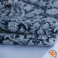 Custom design floral printed cotton poplin fabric