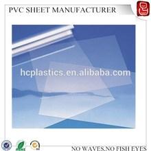 solid pvc sheets/pvc sheet 0.76mm/pvc lamination sheet