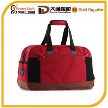 Genuine leather foldable travel bag