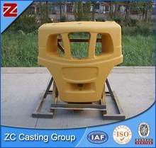 Cast iron bar balance weights