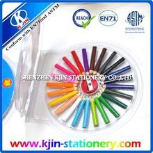 Fashion design CD box packing mini color pencils