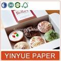 высокое качество простота маленький глянцевой бумаге кекс коробки продаж через интернет
