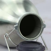 Stainless steel beer bottle for murano glass bottle
