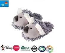Fuzzy Friends Koala Plush Animal Slippers