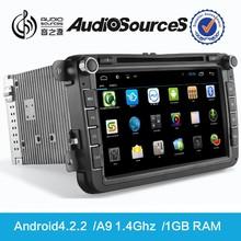 Android digital car dvd for Volkswagen skoda octavia car multimedia with 3G WIFI TV
