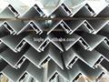 frame de alumínio solar perfil 6063 t6 liga