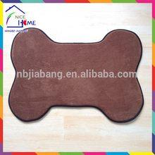 Bone shape customized newest cooling pet bed /gel dog mats