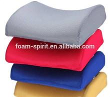 Visco Elastic Memory Foam Lumbar Back Support Seat Cushion