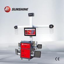 auto garage equipment 3D wheel alignment machine with CE & ISO Certificate