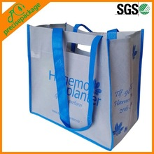 Recycle non woven die cut shopping bag