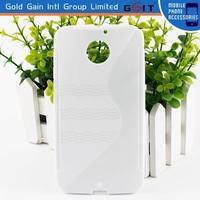 Hot! Ultra Slim S Type TPU Case for Moto X , Soft Gel TPU Case for Motorola XT1058