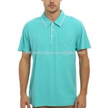 Custom Modern Classic Short Sleeve Men's Clothing Polo Shirt