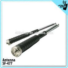 2014 New 14~37.3cm UHF SMA-Female TC-370S telescopic antenna fm radio antenna