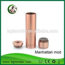 Fast delivery cheap 18650 manhattan mechanical clone mod ego vaporizer pen
