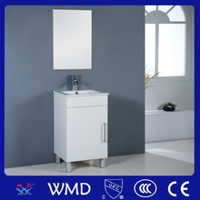 2014 Produced Mini PVC Bathroom Sink Base Cabinet