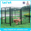 low price low MOQS wire mesh stainless steel cages for pet dogs