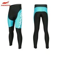 Custom high quality sublimation printing cheap long cycling pants