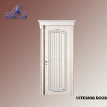 luxury interior solid wood doors china/wood plastic composite door