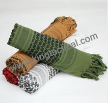 OEM America style wild tide winter military scarf , custom army scarf