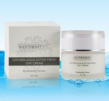 2014 Best product OEM fresh nourishing and whitening face day cream for your private label