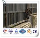 Solid steel animal fence