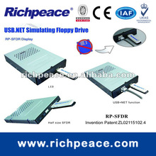 USB simulating floppy drive for SWF Compact