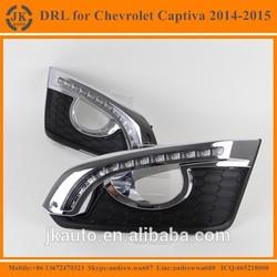 New Arrival High Power LED DRL Fog Light for Captiva Excellent Quality LED Daylight for Chevrolet Captiva 2014~15'