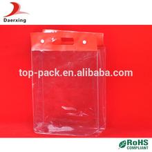 China manufacturer pvc shampoo bag grocery