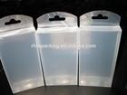 Custom design plastic transparent gift box