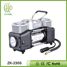 portable DC 12V mini air compressor tyre inflator for car