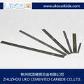 retangular de carboneto de tungstênio barra quadrada para a produção de ponta pneumáticos cinzéis lettering