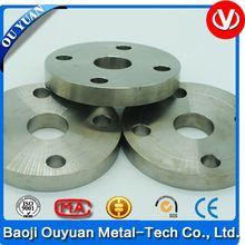 astm b381 grade 2 industrial titanium flange