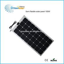 Guangzhou Ocean Solar PV Module Manufacturers flexible solar panels DC 18V 12V solar battery best price per watt solar panel