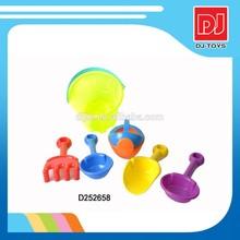 kids plastic summer sand beach toy play set D252658