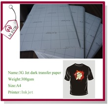 Best Quality A3,A4 Inkjet dark and light opaque transfer paper