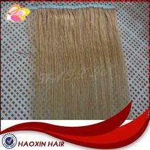 2014 Hotsell Virgin Human Tape Hair On Sale China Supplier