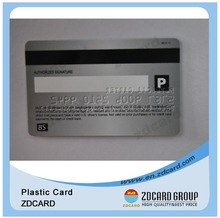 customized high quality offset printing pvc card with Magnetic Stripe